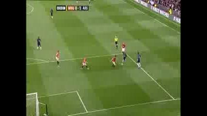 29.08 Manchester United 2:1 Arsenal Ben Foster Прави Спасяването На Годината