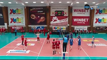 Репортажи и отзиви от 17-ия кръг във волейболната Суперлига