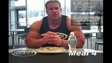 Jay Cutler Maximum Mass - Building Meals