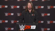 WWE 2K19 cover Superstar announcement - Full press conference