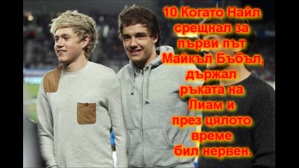 Факти за One Direction - част 2 || Niall Horan