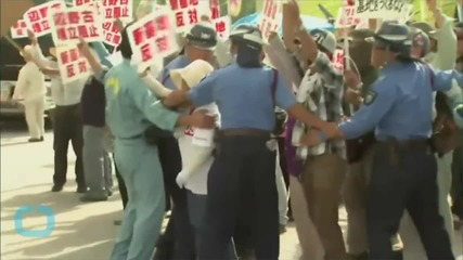 Japanese Row Over U.S. Island Base Move Deepens