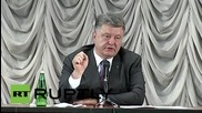 Ukraine: Poroshenko announces creation of buffer zone in E. Ukraine
