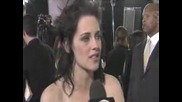 Kristen Stewart at the New Moon La Premiere - Interview (17.11.09)