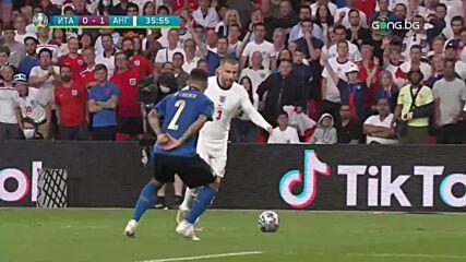 Италия - Англия 4:3 /репортаж/