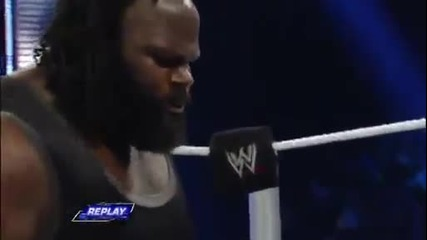 Smackdown March 8 2013 Марк Хенри смачква Йоши Татсу