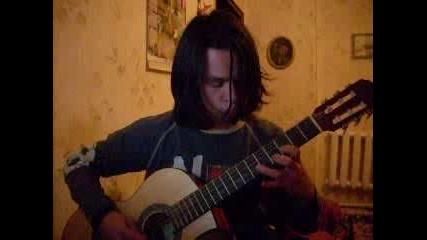 Китарист-свири American Idiot