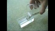 как да замразяваме вода за по малко от минута