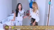 """""""На кафе"""" с риалити звездата Лили Ангелова заедно с новородения си син Мартин"""