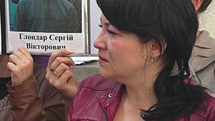 Ukraine: Relatives of POWs demand govt. arrange release of loved-ones in Kiev