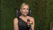 "Charlize Theron Says Marriage is a ""Possibility"" with Sean Penn"