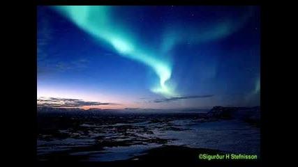 Северното сияние и белите нощи на Финландия
