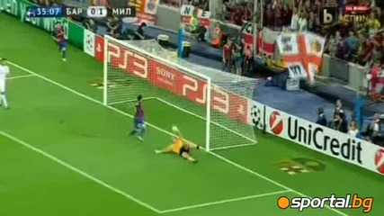 Барселона - Милан 2:2 Шампионска лига