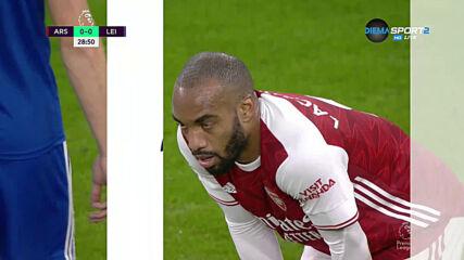 Арсенал - Лестър 0:0 /първо полувреме/