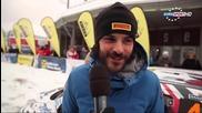 Erc 2015- Int. Jänner Rallye (обзор первого дня)