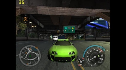 Toyota Supra on Need for Speed Underground 2
