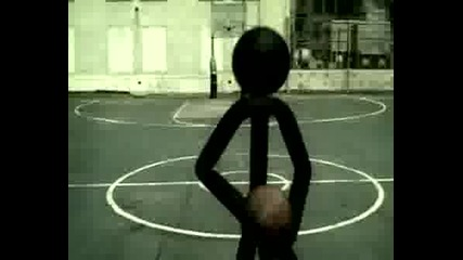 Stick Man V Istinskiq Jivot - Basketbol