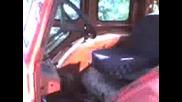 Трактор Т - 40 4х4 - Палене