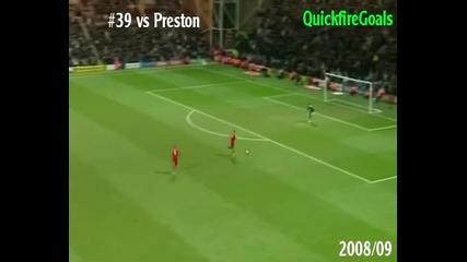 Всичките 81 гола на Торес за Ливърпул през 2007/2011