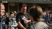 Evel rushed to hospital - Richard Hammond Meets Evel Knievel