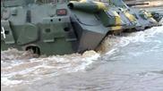Зрелищно военно учение между руски и беларуски командоси