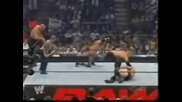 Raw 04.07.2005 Kane and Big Show vs Snicky and Edge with Lita