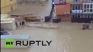 Тежко наводнение в Сочи