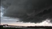 Силна буря в Канзас 31.8.2014