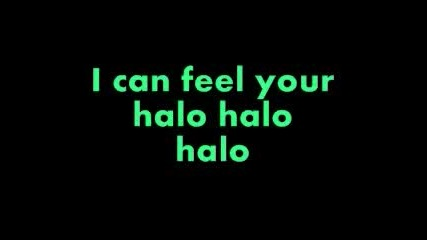 Beyonce - Halo Lyrics
