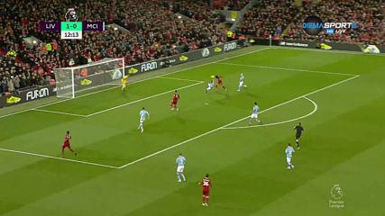 Ливърпул - Манчестър Сити 2:0 /първо полувреме/
