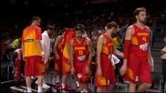Последните минути от супер мача между Франция и Испания