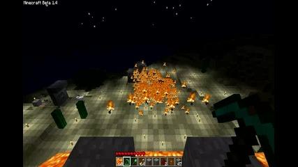 Minecraft - огнени стрели