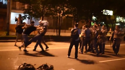 Brazil: Police use violence to break up 'peaceful' Sao Paulo protest