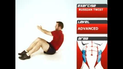 Упражнение за коремните мускули 2