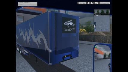 Euro Truck Simulator My Scania R620 V8