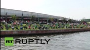 Germany: Berliners soak up the rays as summer comes early