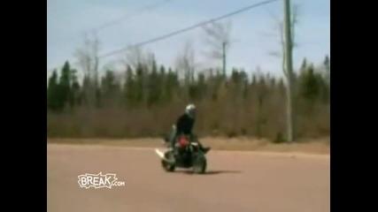 Най Яки - мотоциклети провали