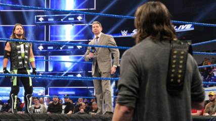 Mr. McMahon hosts a chaotic face-to-face between AJ Styles & Daniel Bryan: SmackDown LIVE, Jan. 22, 2019