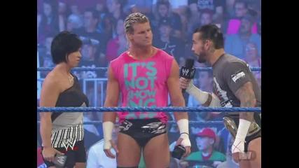 Aj, Dolph Ziggler, Vickie Guerrero, Cm Punk, Daniel Bryan & Sheamus Promo [ Wwe Smackdown, 15.6.12 ]
