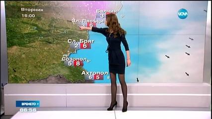 Прогноза за времето (03.02.2015 - сутрешна)