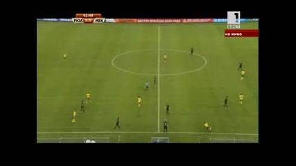 Южна Африка - Мексико 11.06.2010 второ полувреме част 2