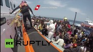 Italy: Coastguard pick up 969 migrants in 6 operations