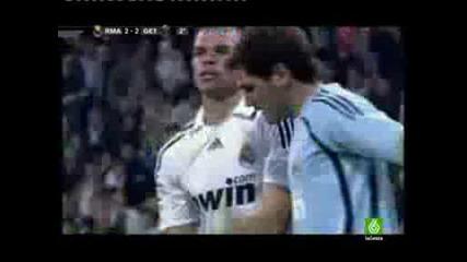 Igracha na Real Madrid Pepe poludqva na terena
