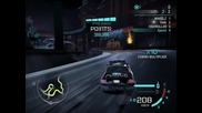 Need for speed Carbon Drift 2 laps Starlight Strip