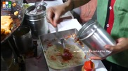 Бърза Храна на улицата .. Butter Veg Frankey Famous Frankey Center Dadar