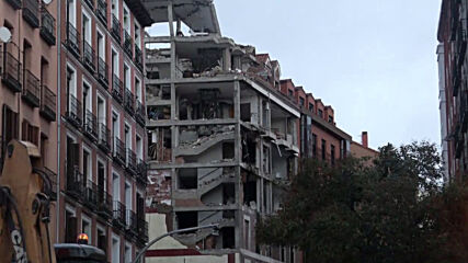 Spain: Emergency operations ongoing after gas explosion at Madrid building kills 4