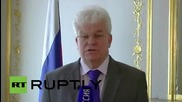 Belgium: EP entry limit for Russian diplomats 'unacceptable' - Vladimir Chizhov