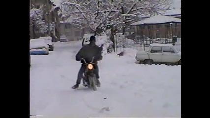 Симсон на сняг