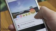 Фейсбук пусна икони с емоция за коментари