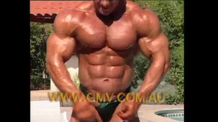 Ronny Rockel - Training Posing Contest Action Dvd Preview